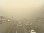 Sand Storm Engulfs Chinese Cities